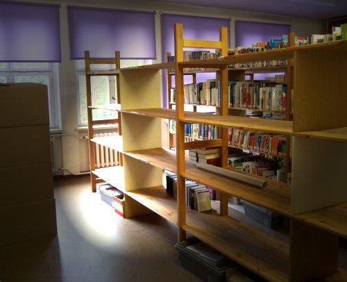Schulbibliotheksumzug